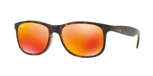 SHINY HAVANA / DARK BROWN MIRROR ORANGE POLAR lenses