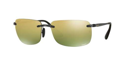 SHYNY GREY / GREEN MIRROR GOLD POLAR lenses