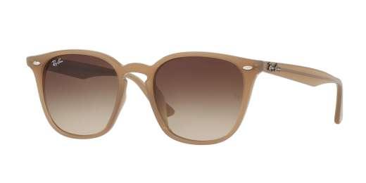SHINY OPAL BEIGE / BROWN GRADIENT lenses