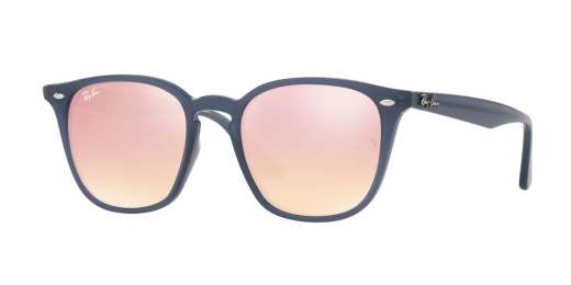 SHINY OPAL DARK AZURE / PINK FLASH COPPER lenses