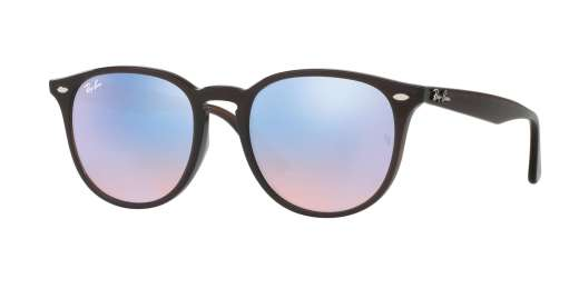 SHINY OPAL BROWN / BLUE FLASH BLUE lenses