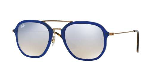 SHINY BLUE / GREY FLASH GRADIENT lenses