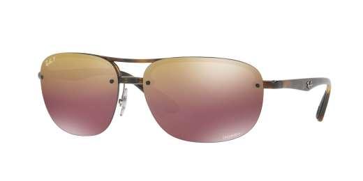 HAVANA / PURPLE MIR GOLD GRADIENT POLAR lenses