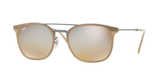 BEIGE / BROWN GRADIENT DARK BROWN MIR lenses
