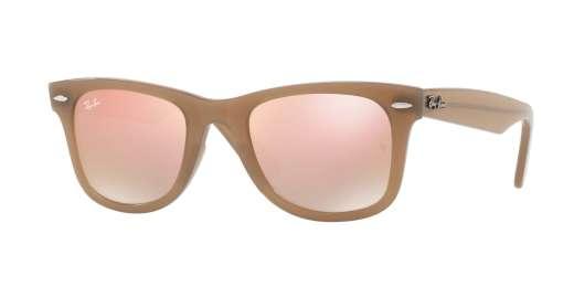 BEIGE / GREY GRADIENT BROWN MIRROR PIN lenses