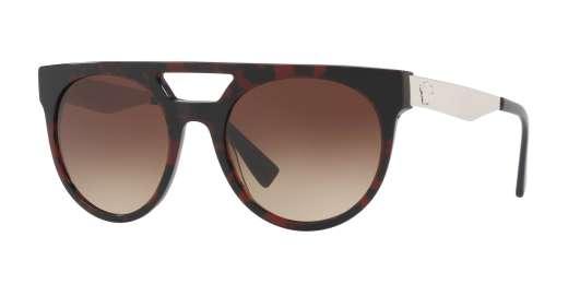 RED HAVANA/BLUE / BROWN GRADIENT lenses