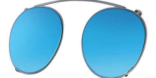 GUNMETAL / MIRROR GRADIENT BLUE lenses