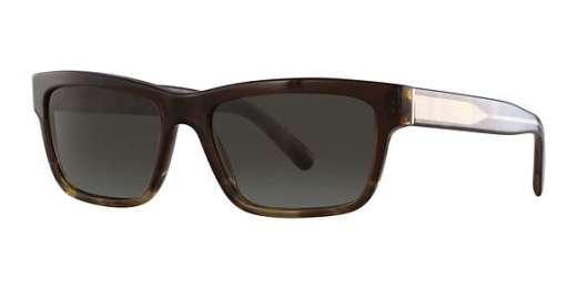BROWN GRADIENT STRIPED / GREEN GRADIENT lenses