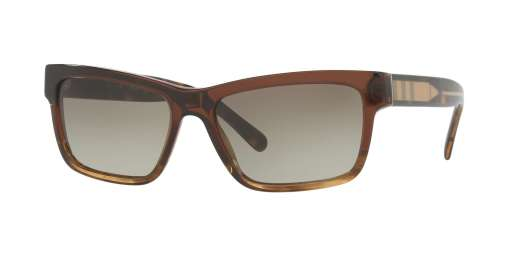 BROWN GRADIENT STRIPED / GREEN GRADIENT lenses