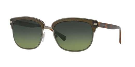 BRUSHED GUNMTEAL/MATTE G / POLAR GREEN GRADIENT lenses