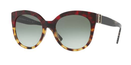 RED HAVANA/LIGHT HAVANA / GREEN GRADIENT lenses