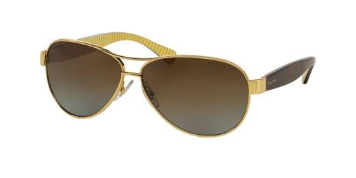 GOLD / BROWN GRADIENT POLARIZED lenses