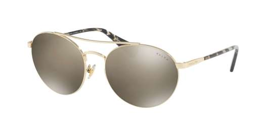 LIGHT GOLD/SNOW LEOPARD / BROWN MIRROR lenses