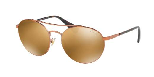 SATIN COPPER/DARK TORTOI / GOLD MIRROR lenses
