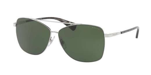 SILVER / GREEN SOLID lenses