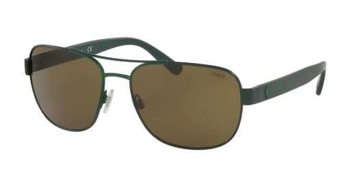 MATTE MILITARY GREEN / OLIVE lenses
