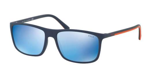 MATTE NAVY BLUE / MIRROR BLUE lenses