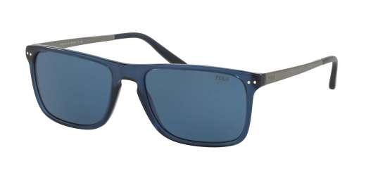 VINTAGE TRASPARENT BLUE / BLUE lenses