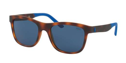 YELLOW HAVANA / BLUE lenses