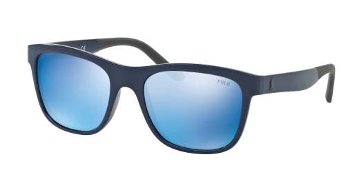 SHINY NAVY BLUE / MIRROR BLUE lenses