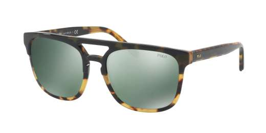 OLIVE ON SPOTTY / GREEN FLASH MIRROR lenses