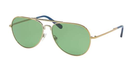 GOLD / GREEN SOLID lenses