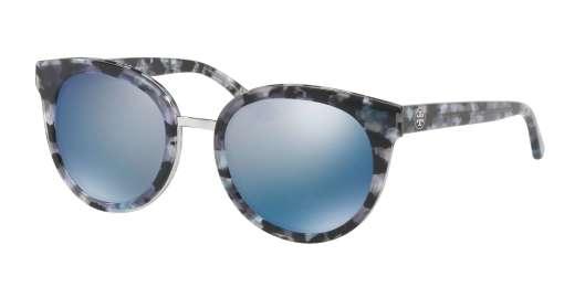 BLACK PEARL TORT / BLUE FLASH POLARIZED MIRROR lenses