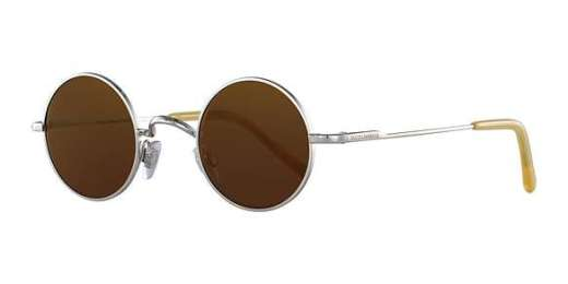 SILVER / BROWN MIRROR BRONZE lenses