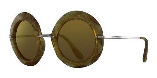 YELLOW/GLITTER GOLD / Brown(Orange)/24K IRIDIUM lenses