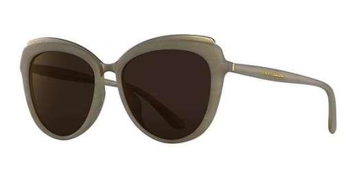 BEIGE HORN / BROWN MIRROR BRONZE lenses