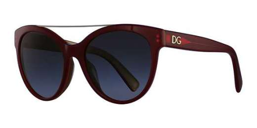 TOP RED ON GOLD / GREY GRADIENT lenses