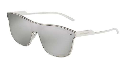 SILVER / LIGHT GREY MIRROR SILVER lenses