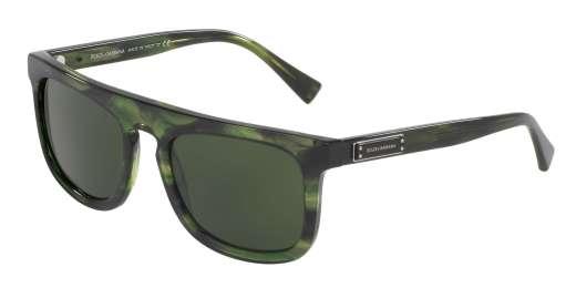 STRIPED GREEN / GREY lenses