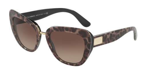 LEOPRINT / BROWN GRADIENT lenses