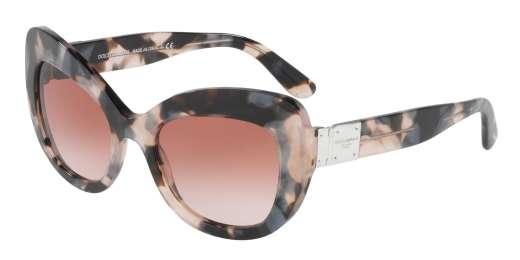 PEARL GREY HAVANA / PINK GRADIENT lenses