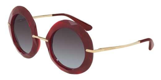TRANSPERNTE RED / GREY GRADIENT lenses