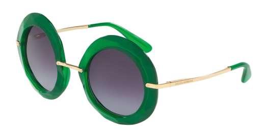 TRANSPARENT GREEN / GREY GRADIENT lenses