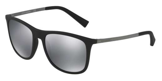 BLACK RUBBER / LIGHT GREY MIRROR BLACK lenses