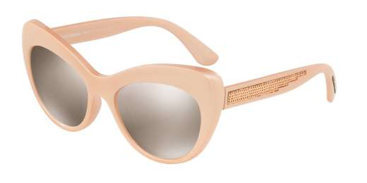 PEARL PINK / LIGHT BROWN MIRROR GOLD lenses