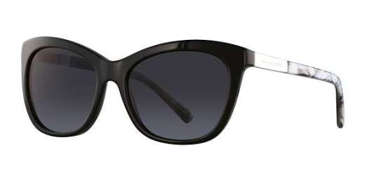 BLACK METALLIC BLACK MAR / GREY GRADIENT lenses