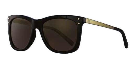 BLACK / GOLD MIRROR POLARIZED lenses