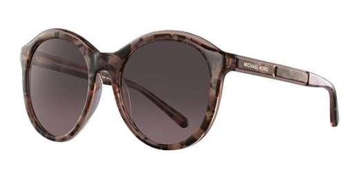 PINK TORT GRAPHIC / BROWN ROSE GRADIENT lenses