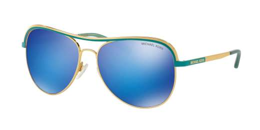 GOLD/TURQUOISE / TEAL MIRROR lenses