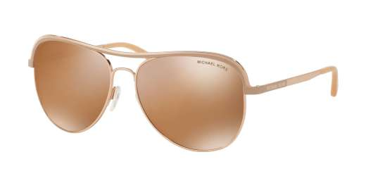 ROSE GOLD/TAUPE / GOLD MIRROR POLARIZED lenses