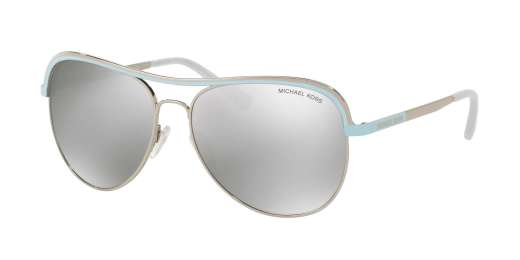 SILVER/PERIWINKLE / SILVER MIRROR lenses