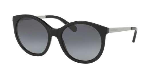 BLACK/MATTE SILVER IRIDE / GREY GRADIENT POLARIZED lenses