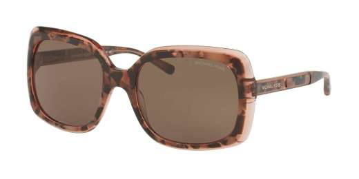 PINK TORT GRAPHIC / SMOKE SOLID lenses