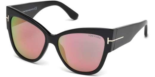 Shiny Black / Gradient Violet lenses