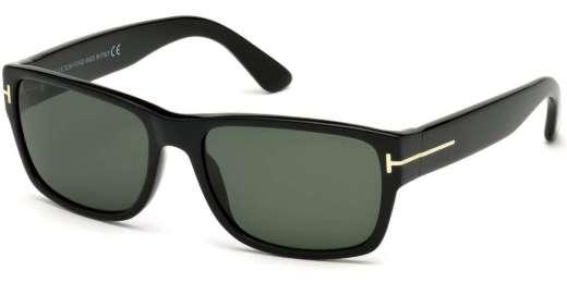Shiny Black / Green lenses