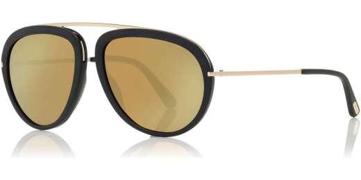 Matte Black / Brown Mirror lenses